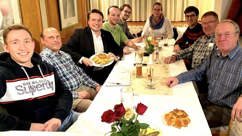 Mutschelabend CDU und JU Lichtenstein
