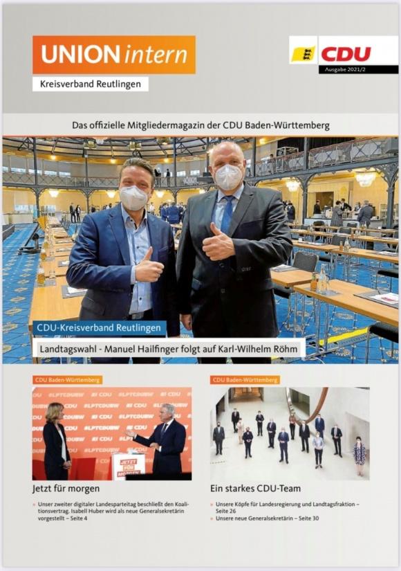 UNIONintern - Ausgabe 2 / 2021